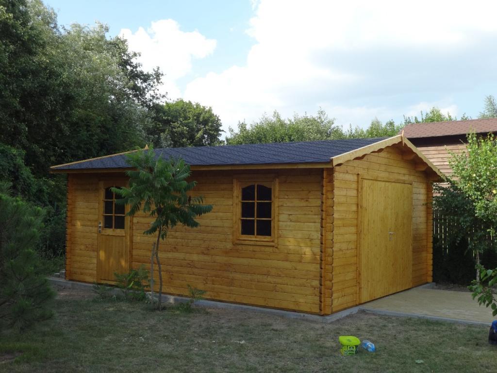 Garaż Drewniany Jednostanowiskowy B