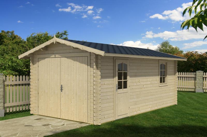 Garaż Drewniany Jednostanowiskowy A