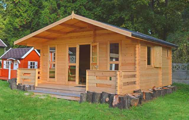 Doruch domy drewniane ca oroczne i domki letniskowe z drewna - Prieel tuin leroy merlin ...