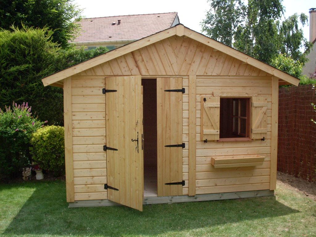 Drewniane domki narz dziowe narz dzi wki z drewna do for Cabane de jardin hornbach