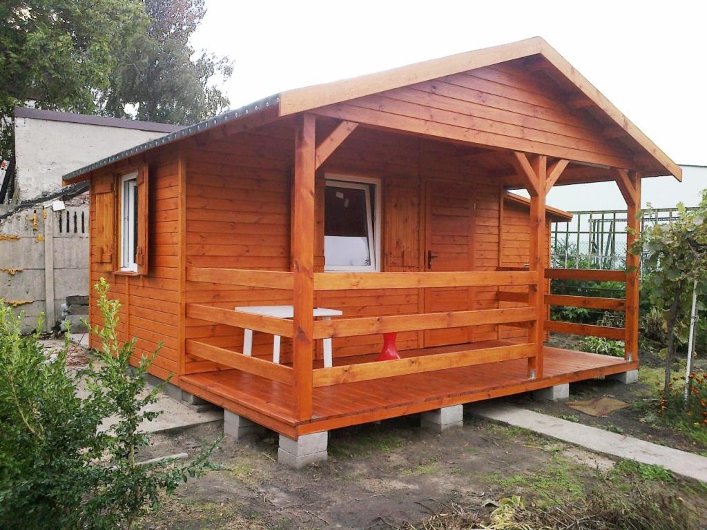 Domki Drewniane Ogrodowe Domy Do Ogródków Działkowych